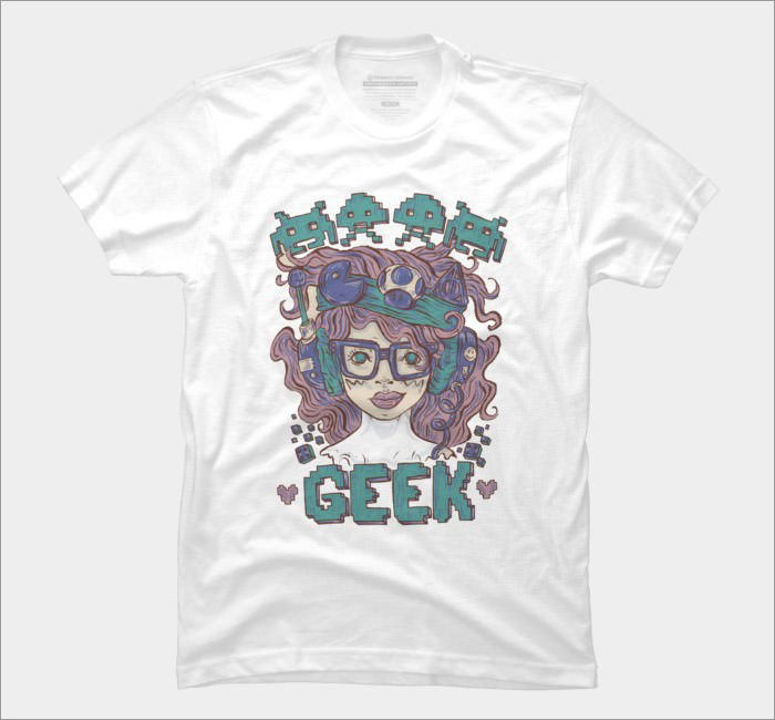 geek-girl-t-shirt