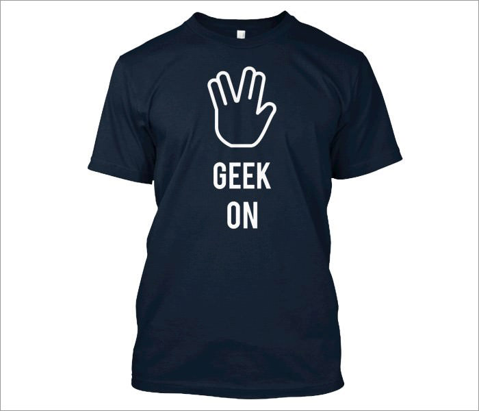 geek-on-t-shirt