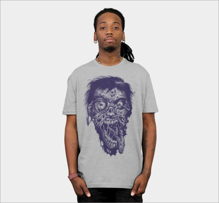 geek-zombie-t-shirt