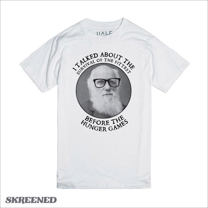 hipster-darwin-geek-t-shirt