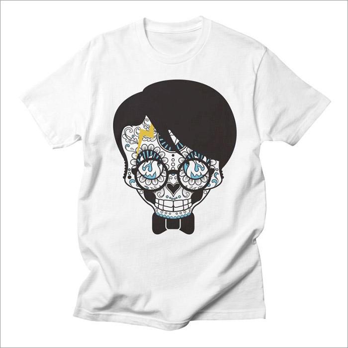 nerd-skull-geek-t-shirt