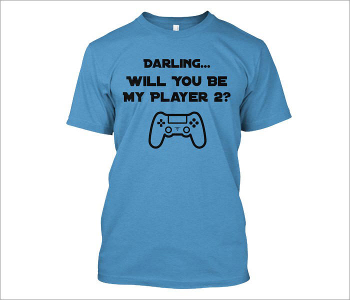 player-two-geek-t-shirt