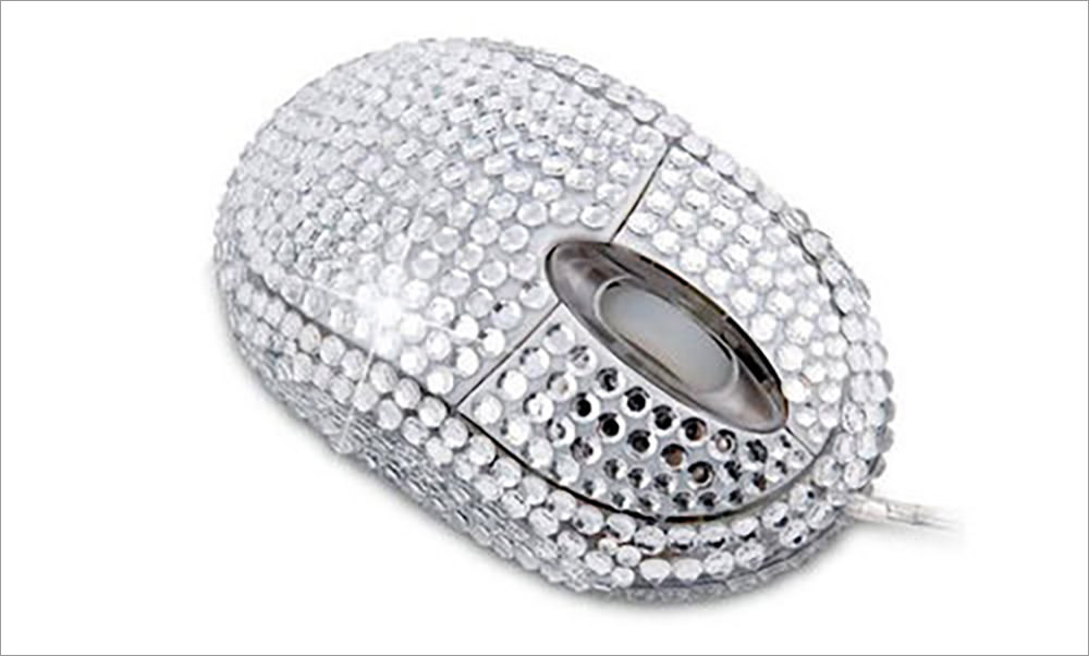 Diamante USB Mouse