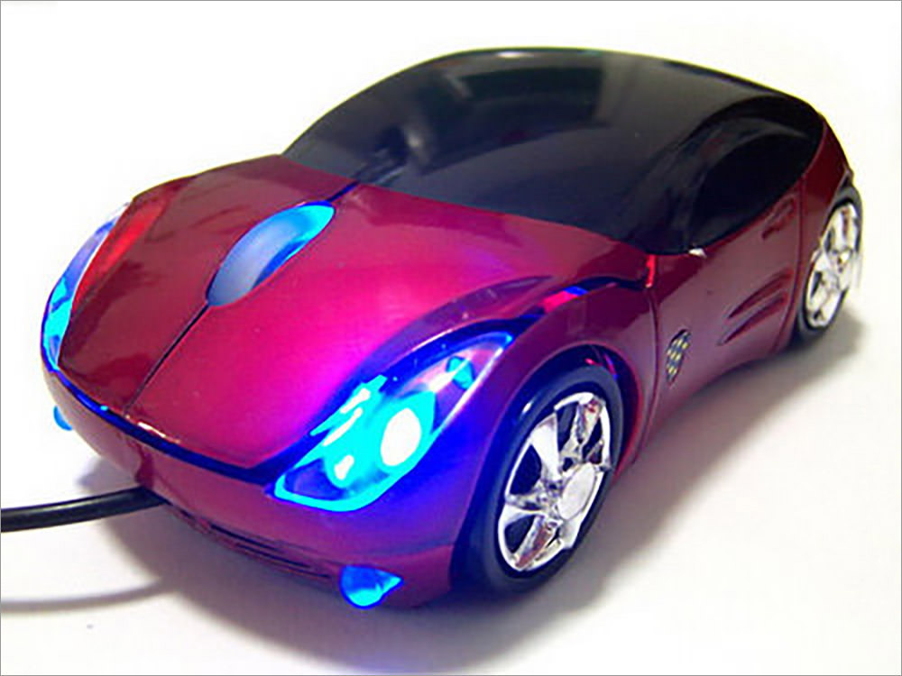 Optical Ferrari Car Mouse