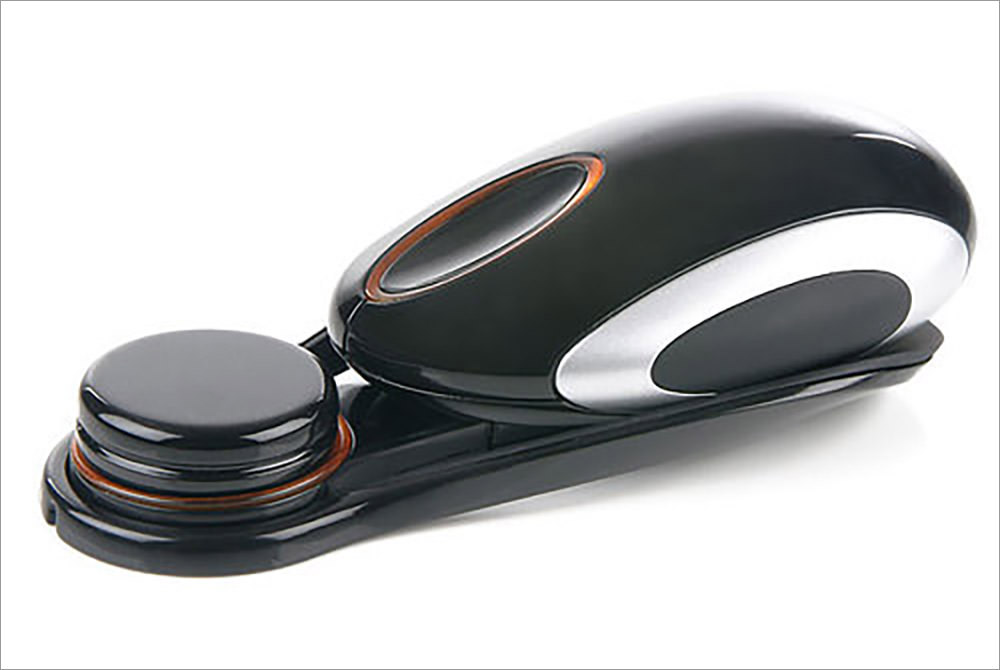 Saitek Obsidian 1000 dpi Wireless Rechargeable Optical Mouse