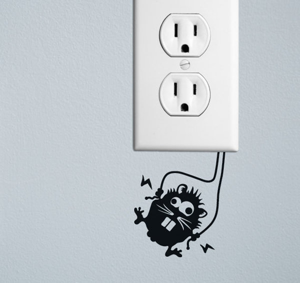 wall socket decorations