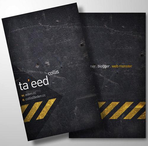 Print-Ready Business Card