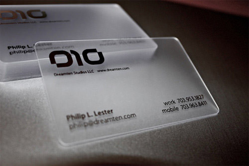 cool business cards designs