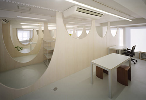 office space design. Nendo Office Space Design