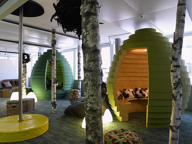Google Zurich creative office