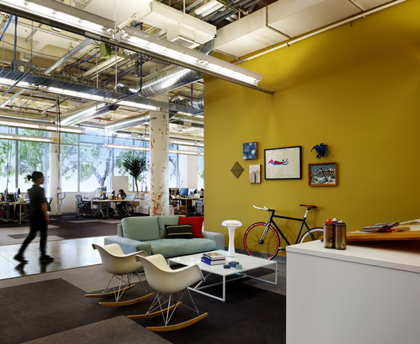 Facebook headquarter creative office