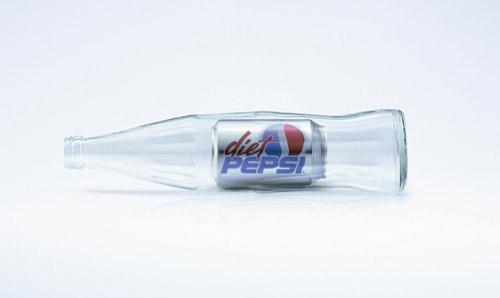 Diet Pepsi - Cans ad