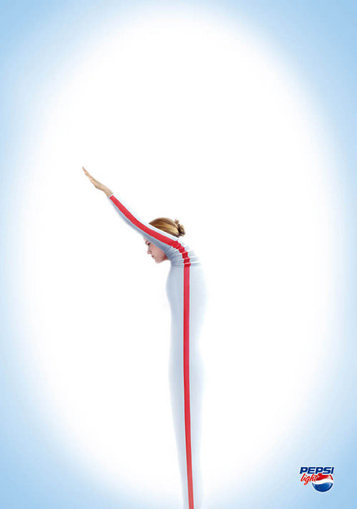 Pepsi light - Straws ad