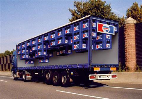 Pepsi - Truck ad