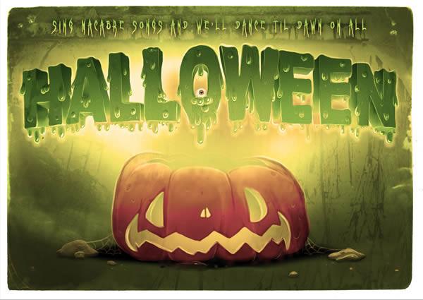 Create Spooky Halloween Typography