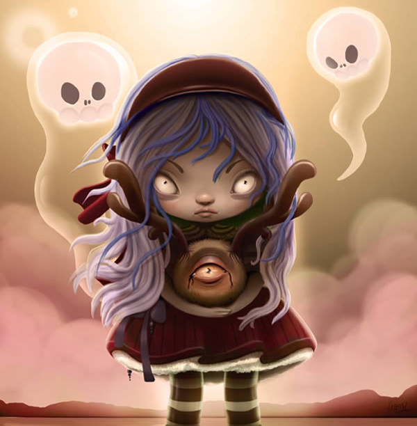Create a Halloween-Inspired Children's Illustration