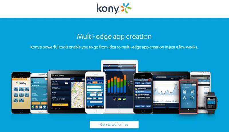 Kony Mobile Platform