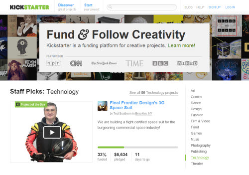 10 Crowdfunding Sites To Fuel Your Dream Project - Hongkiat