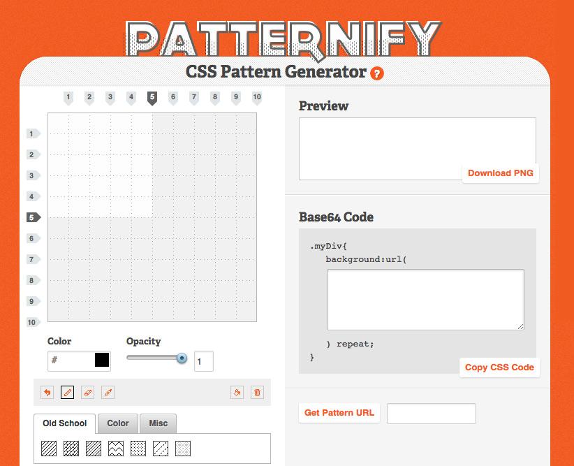 patternify website generator