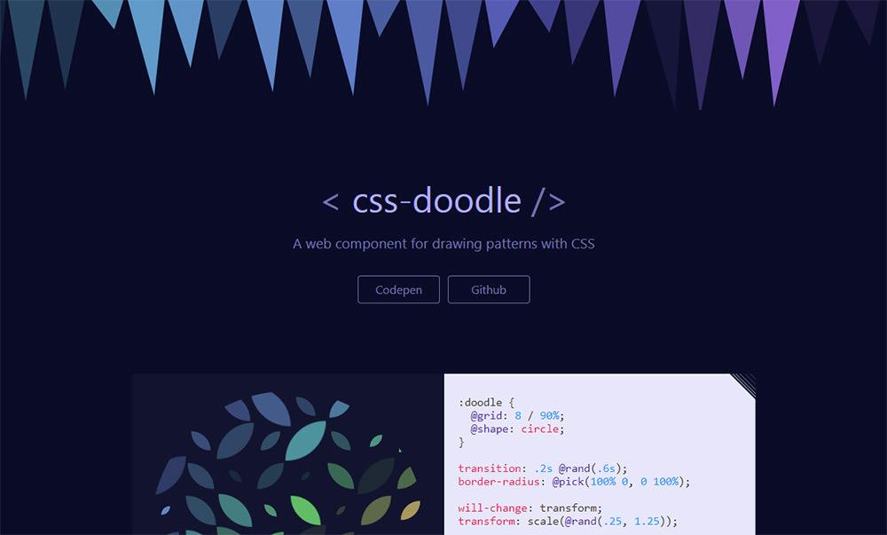 CSS Doodle webapp