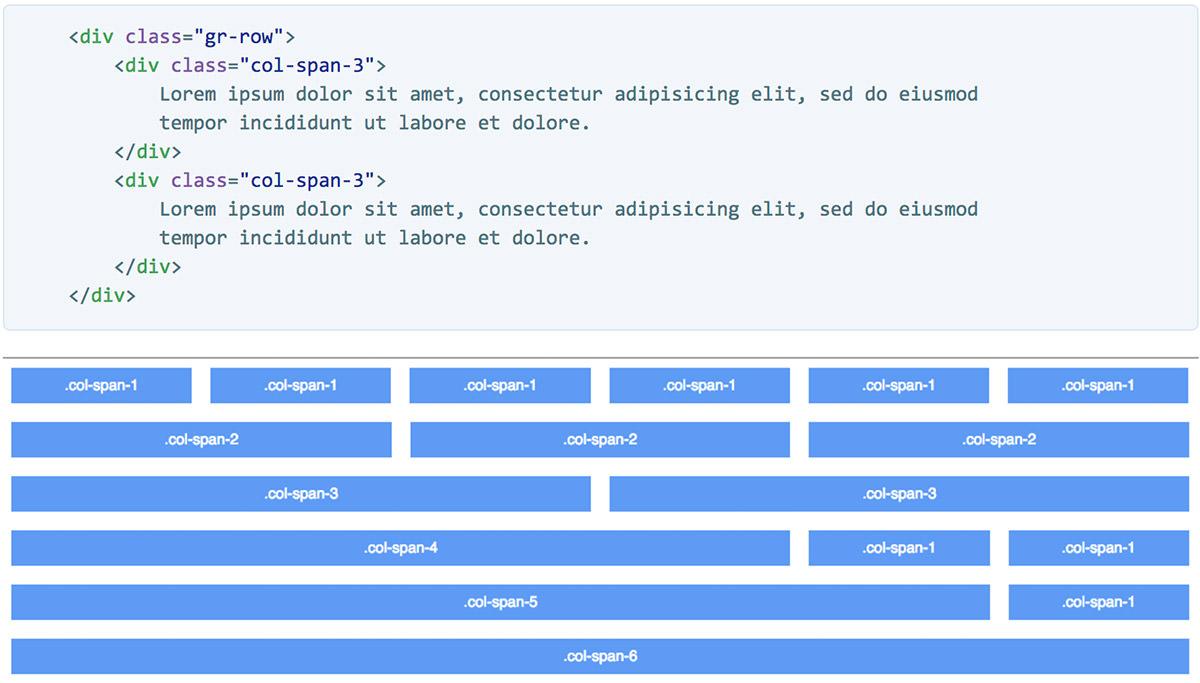 CSS Mint grids