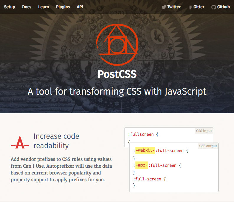 PostCSS Home Page