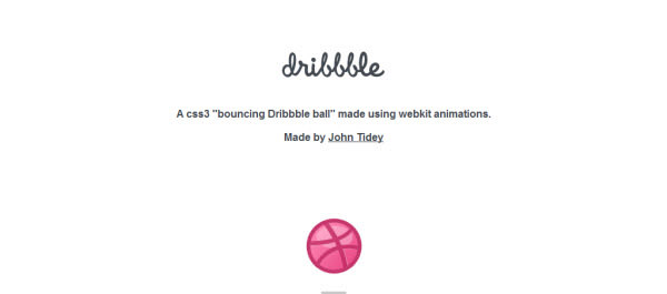 dribbble ball bouncing