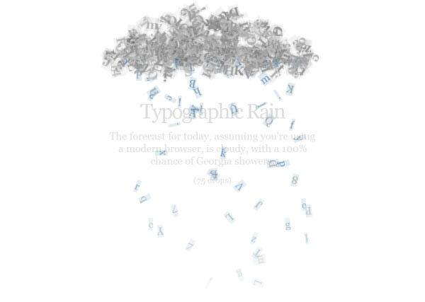 type rains