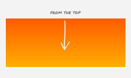 gradient top