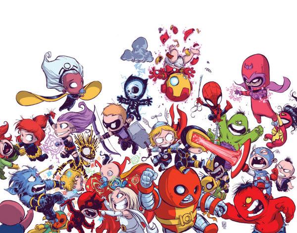 avengers vs x-men babies