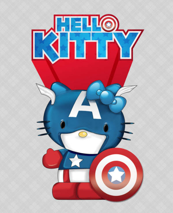 captain hello kitty