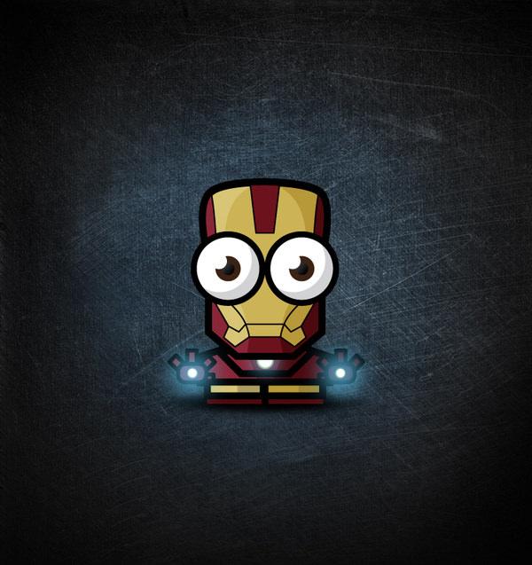 heroes: iron man