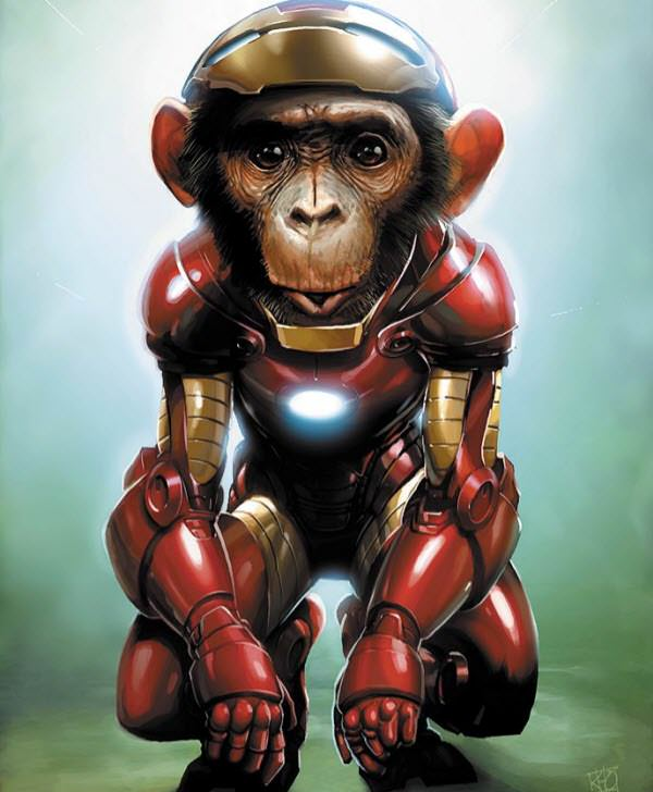 iron chimp