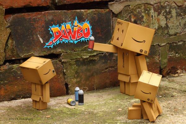danbo graffiti