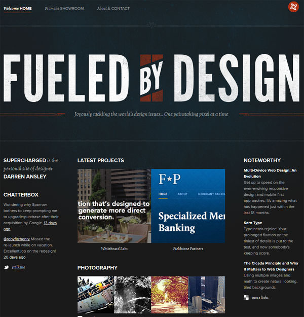 Fueled by Design