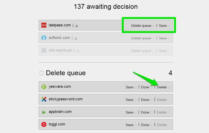 delete queue