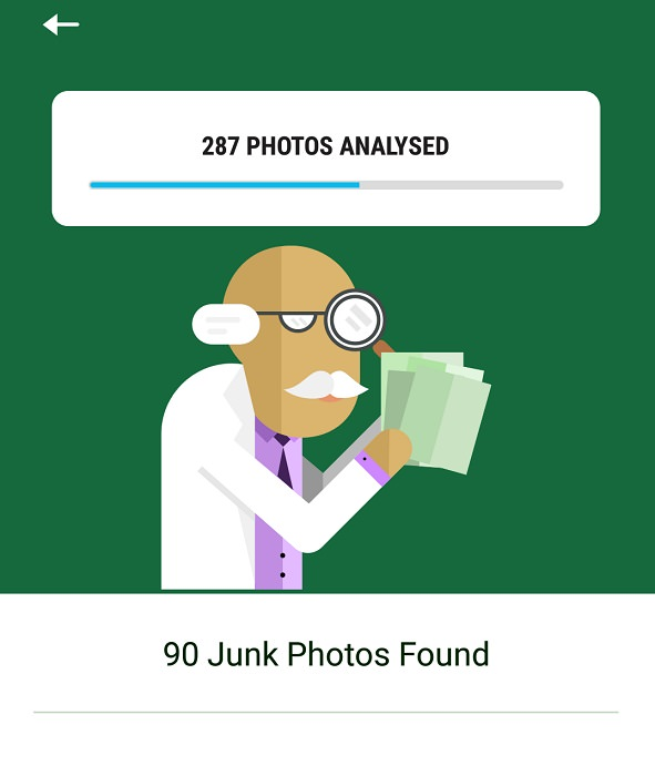 rechercher des photos indésirables