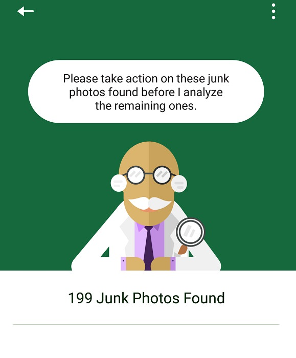 delete junk photos