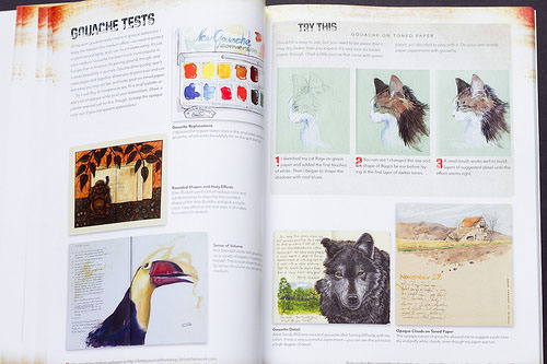 artists journal workshop