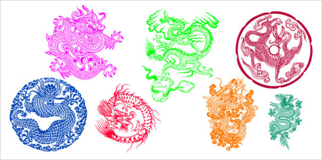 lunar new year PS brushes