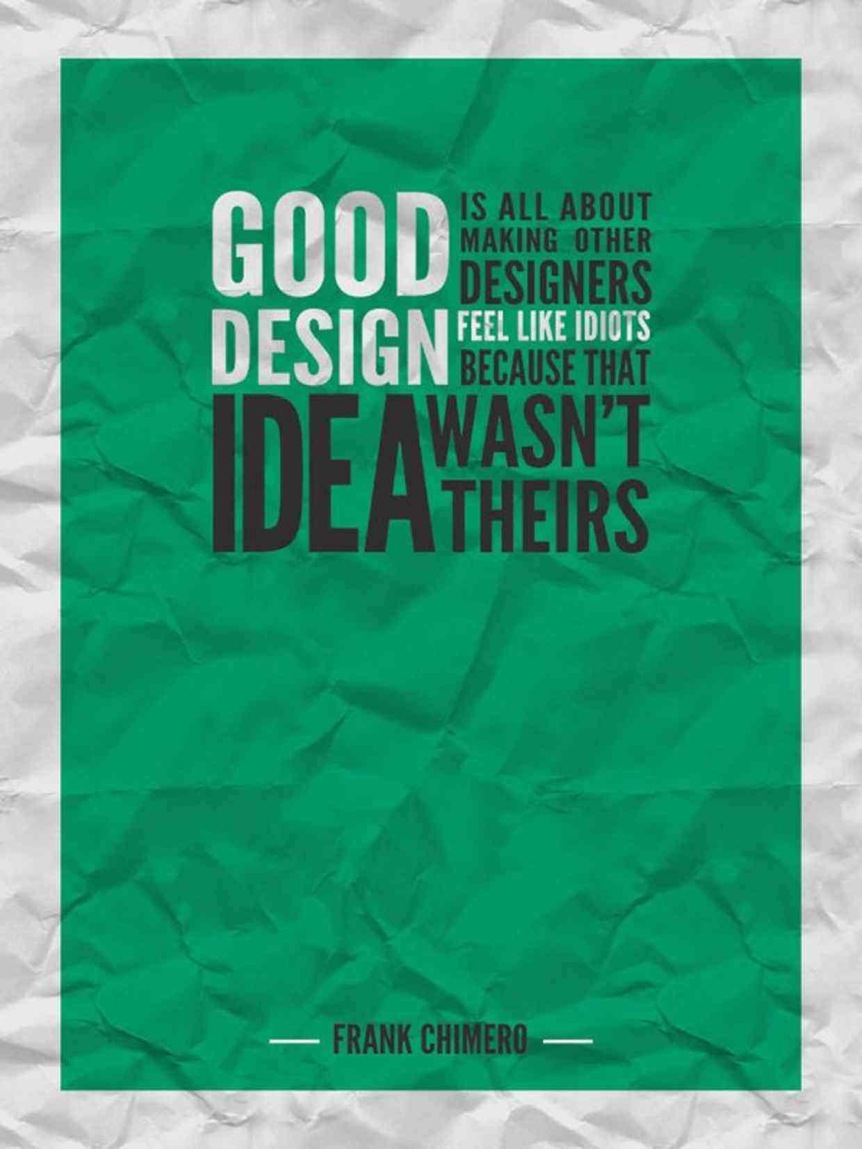 Design Quote 100 Inspirational Quotes For Designers  Hongkiat
