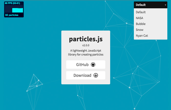 Particle Demo