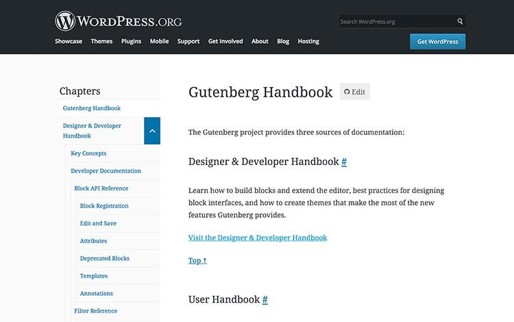 Gutenberg Handbook