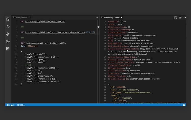vscode-rest-client