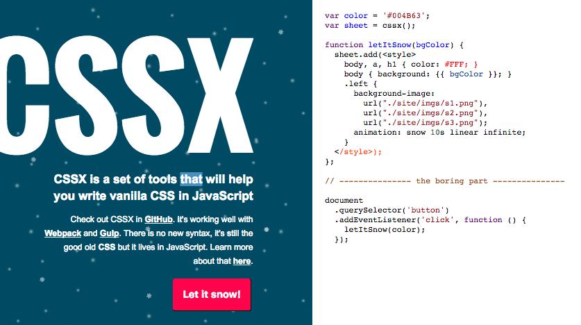 CSSX Cover