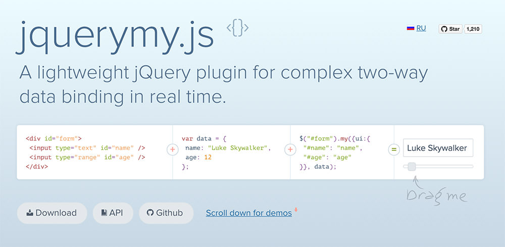 jQuery My Homepage
