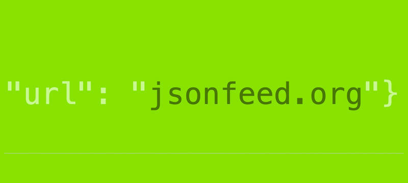 JSON Feed