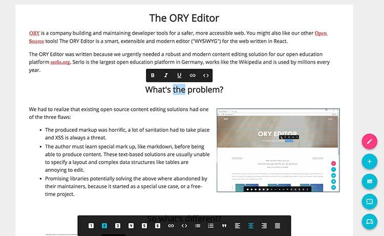 Ory Editor