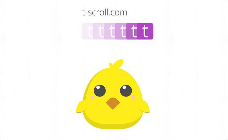 T-Scroll