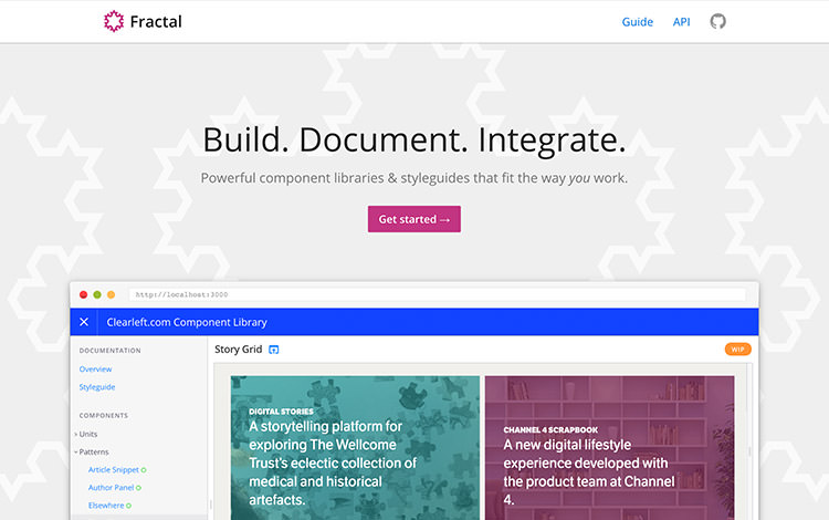 Fractal-documentation-tool